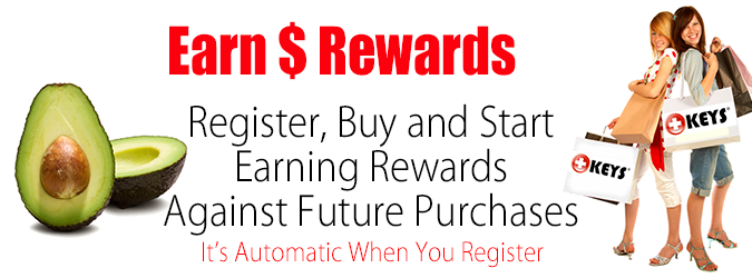 Earn Rewards at Keys